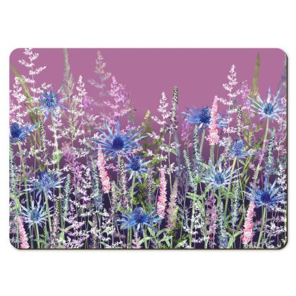 Large Placemats - Fairytale Sunset Meadow