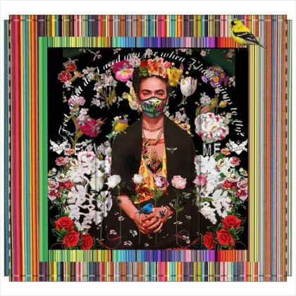 Frida Incognita 2020 3-Panel Folding Screen