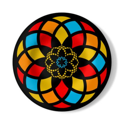 Gaudi Illustration Decorative Plate