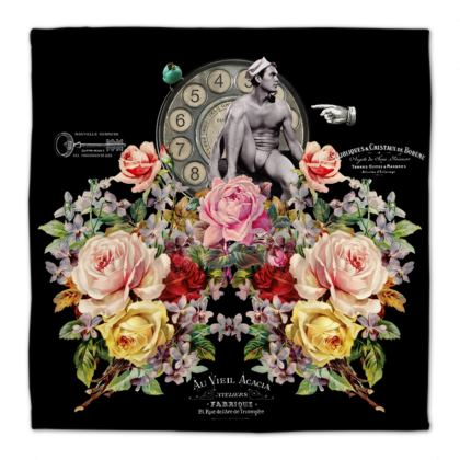 Nuit des Roses Revisited for Him Napkins
