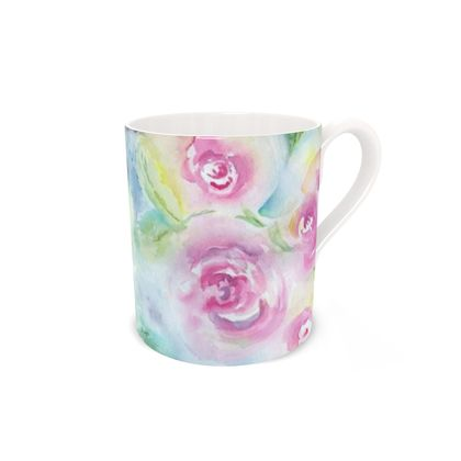 Bone China Mug. Rosie Posie