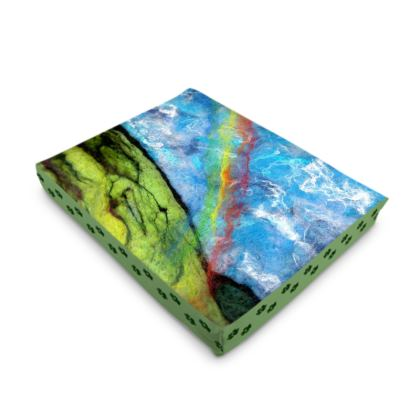 Chasing Rainbows Dog Bed / Pet Cushion in 4 sizes