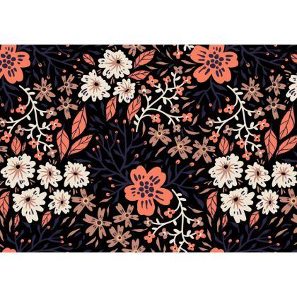 Summer Flowers Designer Nappa Leather crossbody bag