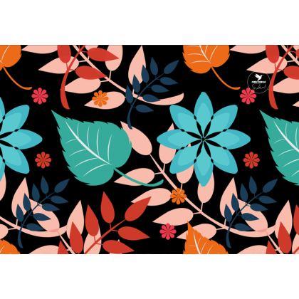 Leaves & Lotus Designer Nappa Leather crossbody bag