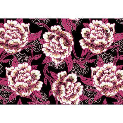 Floral Exuberance Designer Nappa Leather crossbody bag