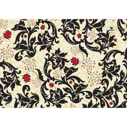 Vintage Floral Buoyancy Designer Nappa Leather crossbody bag