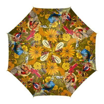 Orange Mayhem Umbrella