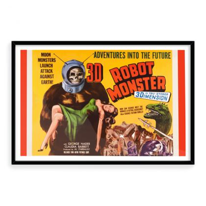 Robot Monster Vintage Premiumm Art Print