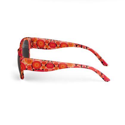Stellar Circles Illustration Designer Sunglasses