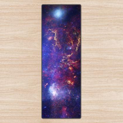 Space Nebula Design Premium Yoga Mat