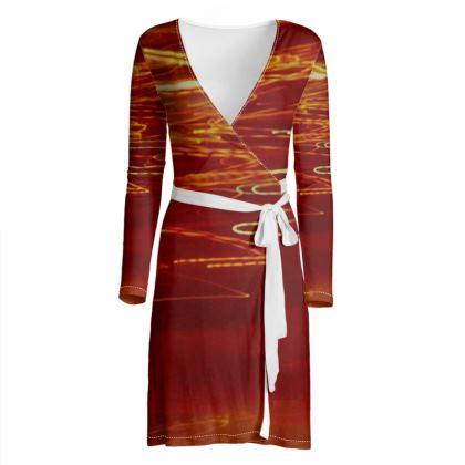 Collection Wrap Dress - Comfortable Color Design   -   Collection 1