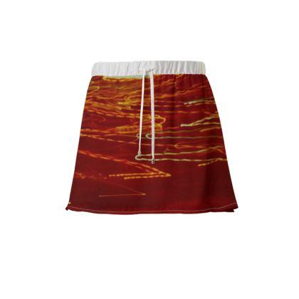 Collection Skirts - Comfortable Color Design Mini Skirt   -   Collection 1