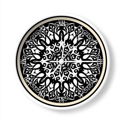Arabesque Fob Top Attic Limited Edition Wall Clock