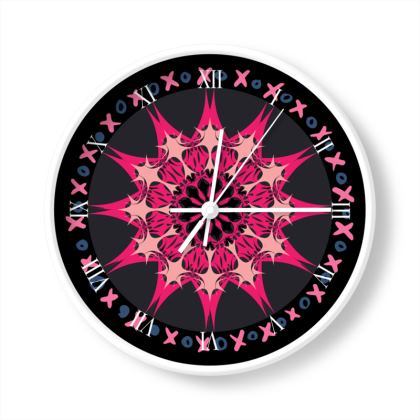 Xs & Os Limited Edition Wall Clock