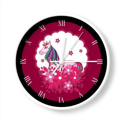 Unicorn Limited Edition Wall Clock
