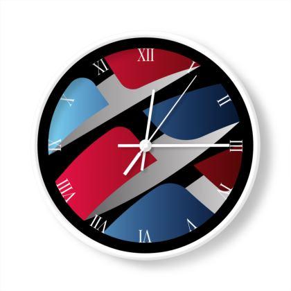 Globe Illustration Limited Edition Wall Clock
