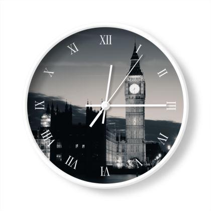 London at Dusk Limited Edition Wall Clock