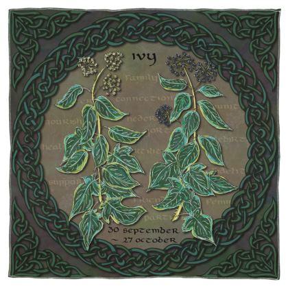 Tree Calendar Ivy Scarf