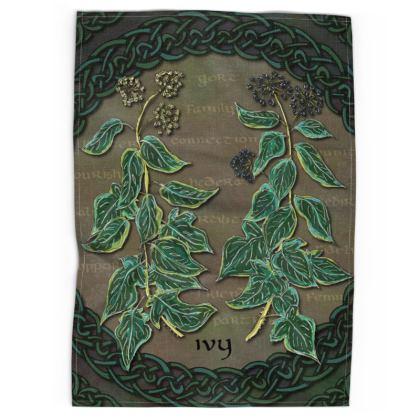 Celtic Ivy Tea Towel