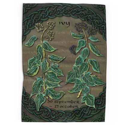 Tree Calendar Tea Towel