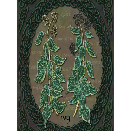 Celtic Ivy Tray