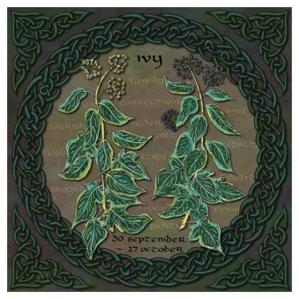 Tree Calendar Ivy Coasters