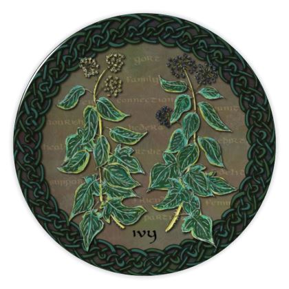 Celtic Ivy China Plate