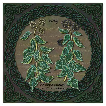 Tree Calendar Ivy China Plate