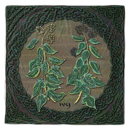Celtic Ivy Throw Blanket