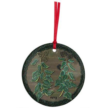 Celtic Ivy Hanging Ornament