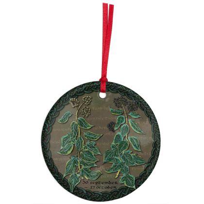 Tree Calendar Ivy Hanging Ornament