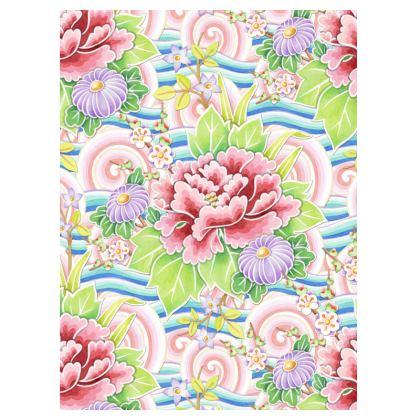 Kimono Bouquet Suitcase