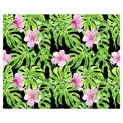 Pink Tropical Flower Kimono