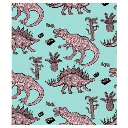 Dinosaur Pattern Hoodie