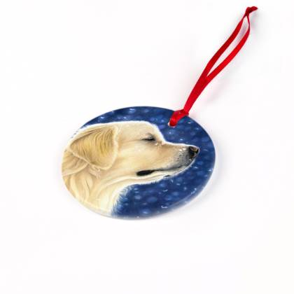 Golden Retriever Christmas Ornament - Magic Moment