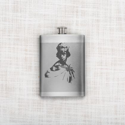 Queen Nzinga Hip Flask