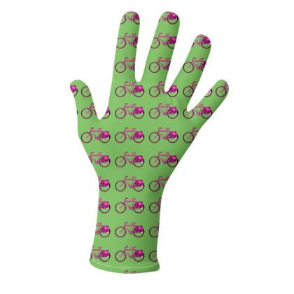 2 PAIRS PACK - Gloves / Bike Pattern Multicolour