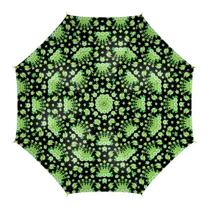 Queen of my Mojo pattern umbrella