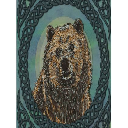 Celtic Brown Bear Tray