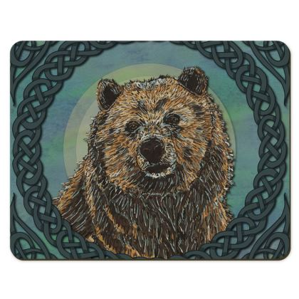 Celtic Brown Bear Placemats