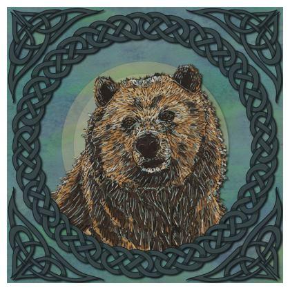 Celtic Brown Bear Coasters