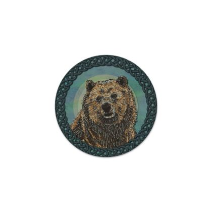 Celtic Brown Bear Serving Platter