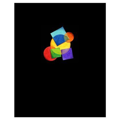 Candy Rainbow Geometric Hoodie