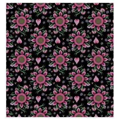Burgundy Luxurious Dressing Gown   Bathrobe