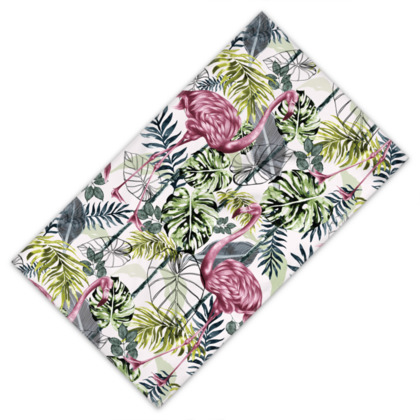 Tropical Flora Towels