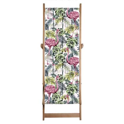 Tropical Flora Deckchair