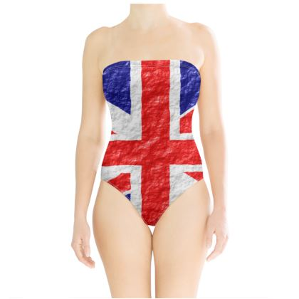 Swimsuit Union Jack Flag