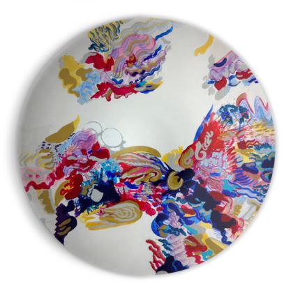 Artistic Colourful Ornamental Bowl