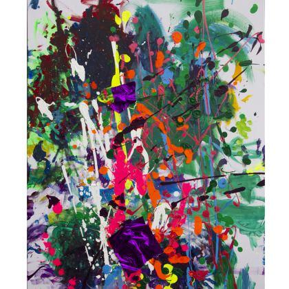 Shoulder Bag colorful life