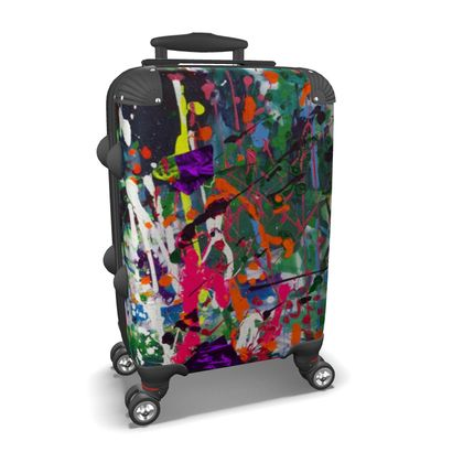 Suitcase colorful life